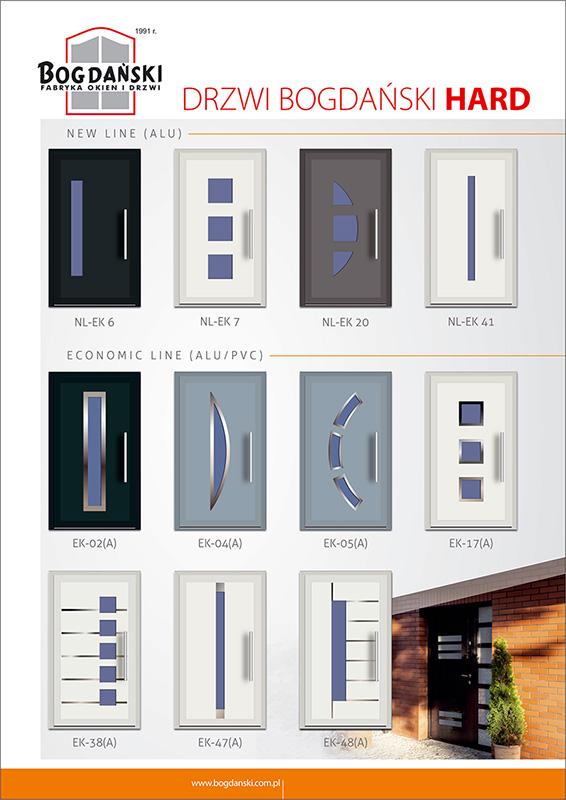 Ogromny Drzwi wejściowe PVC, Bogdański - Fabryka Okien i Drzwi, Nowy Sącz VW85